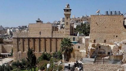 Filistin camisinde 'Abdulhamid' izleri