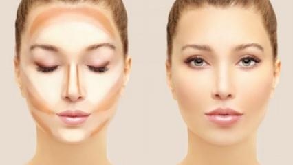 Makyaj Teknikleri Gölgelendirme Ve Aydınlatma Güzellik Haberleri