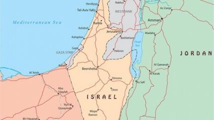 Kudüs harita üzerinde nerede yer alıyor? Kudüs'ün önemi ve tarihi!