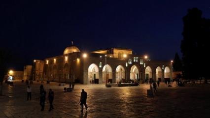 Mescidi Aksa'nın ışıkları söndürüldü! Mescidi Aksa nerede? Tarihi ve önemi