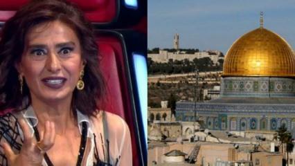 Yıldız Tilbe'den çok sert Kudüs tepkisi!