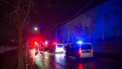 Gaziantep'te korkutan fabrika yangını