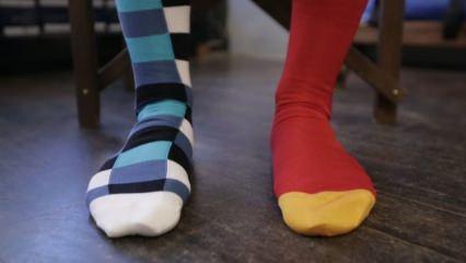 Tek kalan çoraplar nasıl değerlendirilir?