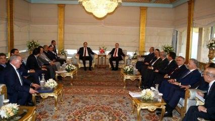 Cumhurbaşkanı Erdoğan Şahid'i kabul etti