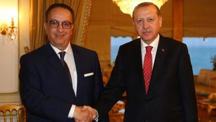 Cumhurbaşkanı Erdoğan es-Sibsi'yi kabul etti