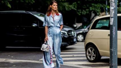 Pijama takımı modası