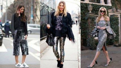 """Yeni yılın modası: """"Payetli kıyafetler"""""""