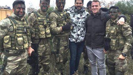 Ünlü ikili'den Türk askerlerine moral!