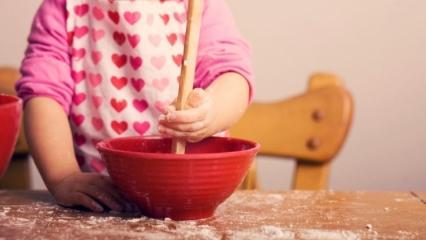 Çocuklara yemek yaptırılmalı mı?