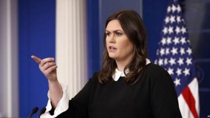 Beyaz Saray sözcüsünden İran açıklaması