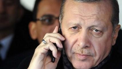 Erdoğan'dan Münir Özkul'un ailesine telefon