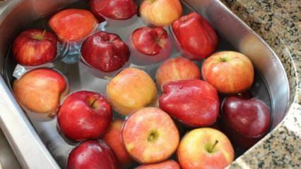 Meyveler nasıl yıkanmalıdır?