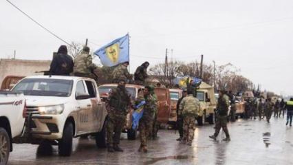 Afrin'de Esed rejiminden skandal PKK hamlesi
