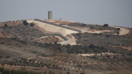 Afrin'de teröristlerden ilginç değişiklikler