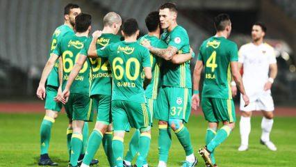 Giuliano attı, Fenerbahçe rahat turladı!