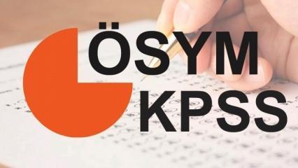 2018 (ÖSYM) KPSS yerleştirme tarihleri ve sınav takvimi açıklandı!