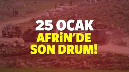 25 Ocak 2017 - Afrin'de 'Zeytin Dalı' operasyonunda son durum ne?