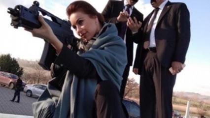 Macar oyuncudan Türk askerlerine Afrin mesajı