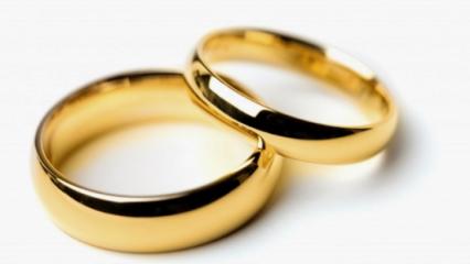 Rüyada altın yüzük takmak ne anlama gelir? Rüyada altın yüzük takmanın tabiri...