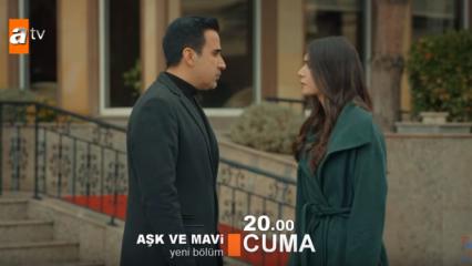 Aşk ve Mavi 52. yeni bölüm fragmanı geldi: Ali ile Mavi ayrılacak mı?
