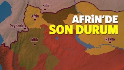 Zeytin Dalı harekatında 13. gün! Afrin son dakika haberleri...