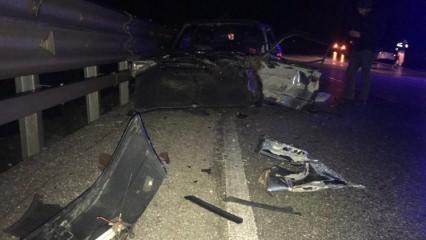 Bilecik'te feci kaza: Yaralılar var