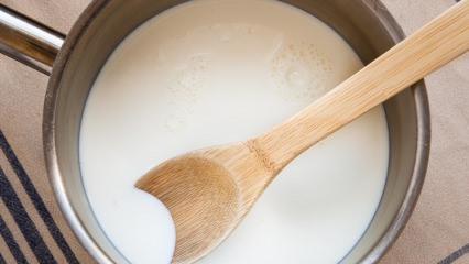 Kesilmiş süt nasıl değerlendirilir?