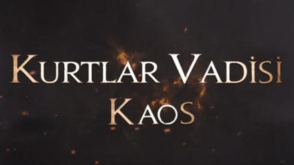 Kurtlar Vadisi Kaos yeni kanalı açıklandı mı? Dizi ne zaman başlayacak?