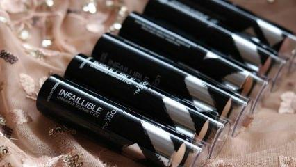 L'Oréal Paris Infaillible Shaping Sticks fondöten