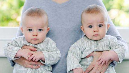 Tek yumurta ve çift yumurta ikizlerinin farkları