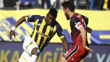 Ankaragücü Antep'e gol yağdırdı!