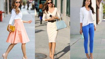 Pastel ayakkabı modası