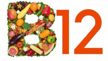 B12 vitamini eksikliği nedenleri? B12 vitamini eksikliği belirtileri...