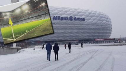 Beşiktaş maçı öncesi kar alarmı! Her yer bembeyaz