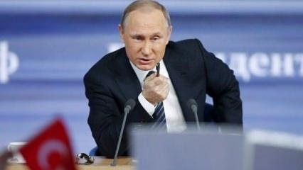 Putin hepsini topladı! Afrin'i görüştüler