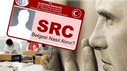 2018 SRC belgesi nasıl alınır? E-Devlet SRC alma ekranı!