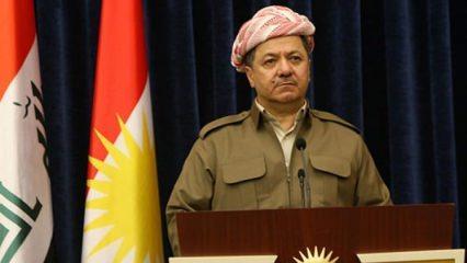 'Diz çöken' Barzani'den ilk açıklama geldi