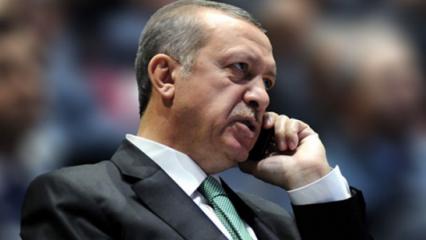 Cumhurbaşkanı Erdoğan'dan Akar ve Soylu'ya telefon
