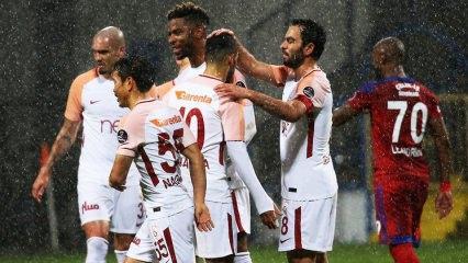 G.Saray Karabük'te gol olup yağdı!