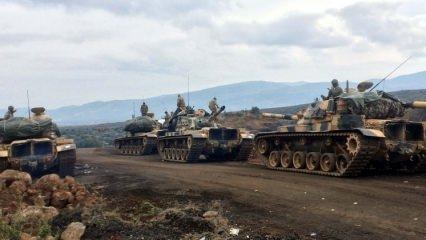 Afrin'de dikkat çeken görüntü!