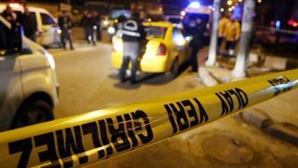 İstanbul'da Uber aracına silahlı saldırı