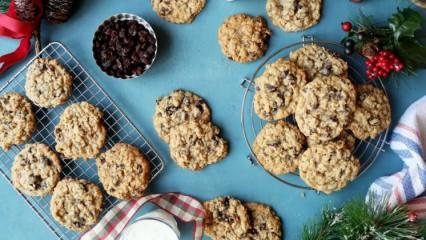 Evde yulaflı diyet kurabiye tarifi...