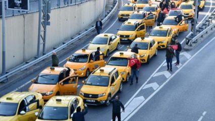 Taksici- Uber kavgası! Tehdit gibi sözler