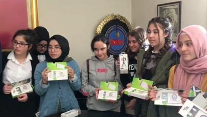 Afrin'deki Mehmetçiğe anlamlı destek!