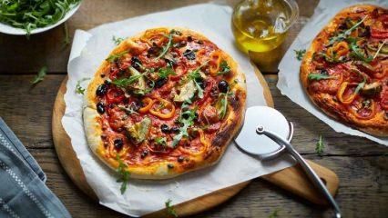 Diyet pizza nasıl yapılır?
