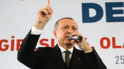 Erdoğan'dan flaş 'Tel Rıfat' açıklaması