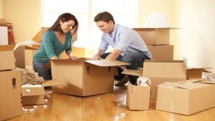 Evden eve taşınırken nelere dikkat edilmeli ?