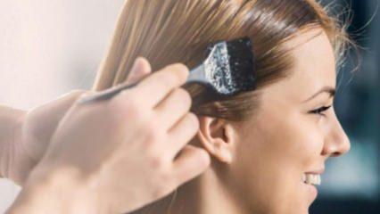 Saç rengi koyulaştırma yöntemleri nelerdir?