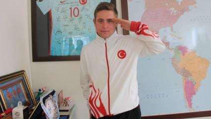 'Türkiye'nin Usain Bolt'u olmak istiyorum'
