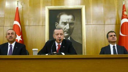 Erdoğan'dan ABD'ye Münbiç çağrısı